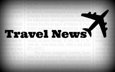 TravelNews - Black and White