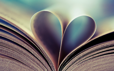 Book With Heart Shaped Page