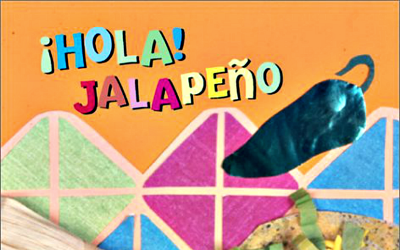 Hola Jalapeno - Book by Amy Wilson Sanger