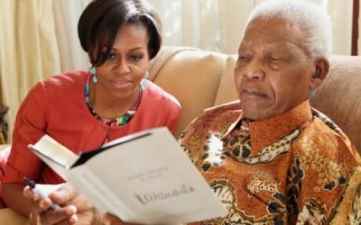 Michelle Obama & Nelson Mandela