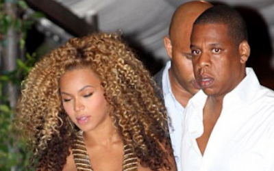 Beyonce & JayZ in Venice, Italy (Sep 2011)