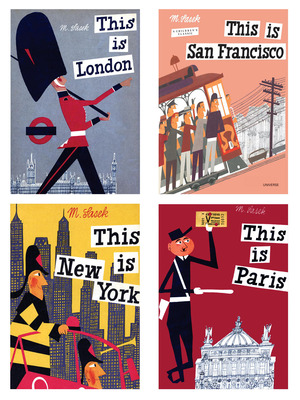 """This Is"" Travel Book Series by Miroslav Sasek"
