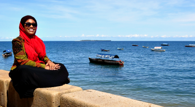 Hafsa Mbamba in Zanzibar - Featured