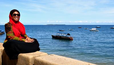 Hafsa Mbamba in Zanzibar - Featured