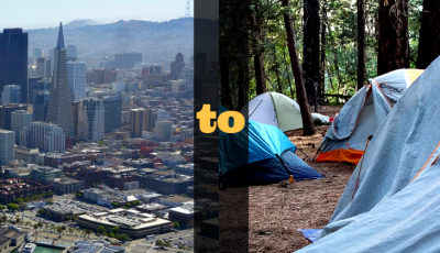 City to campsite featured image