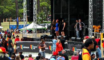 Yabun Festival in Redfern neighborhood in Sydney, Australia