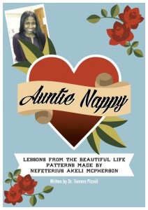 Book Cover: Auntie Nappy by Dr. Tamara Pizzoli