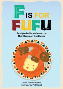 Book Cover: F Is For Fufu by Dr. Tamara Pizzoli