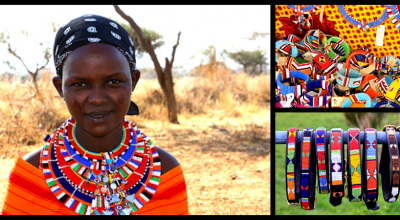 Agnes K. Parnyompe, a Maasai woman from Ongata-Rangai Village in Kenya